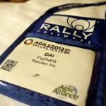 Agile 2012 Conferenceのパス